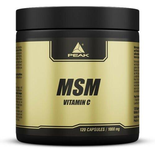 Peak MSM -/ Methylsulfonylmethan + Vitamin C 120 Caps