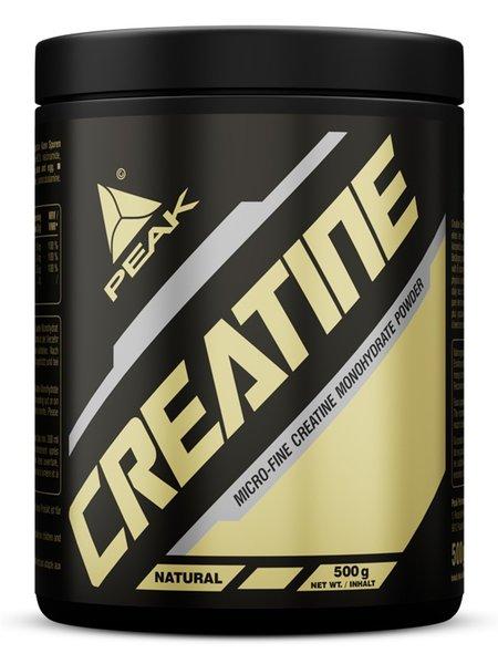 Peak Creatin Monohydrat 500g Vitamin B-Komplex Pulver Dose
