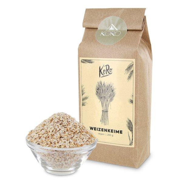 Koro Bio Weizenkeime | 250 g 100% Bio Qualität Natur