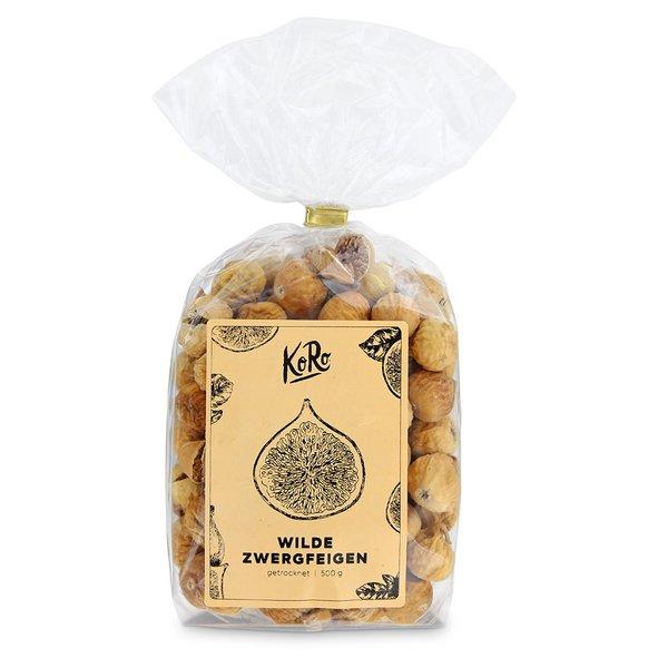 Koro Wilde Zwergfeigen | 500 g Natur Trockenfrüchte