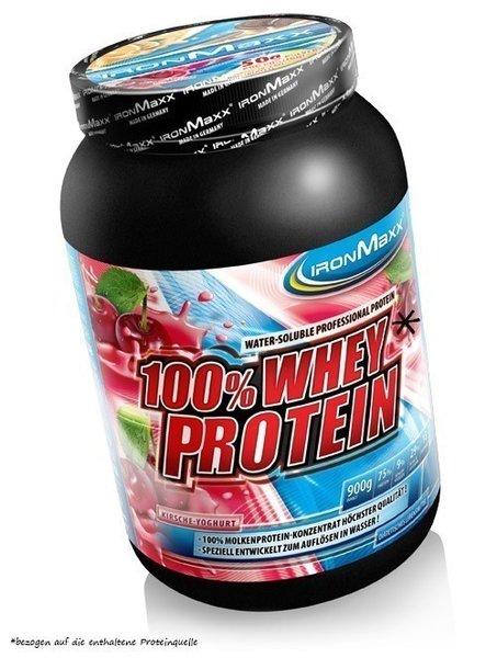 Ironmaxx 100% Whey Protein*, 900g Dose
