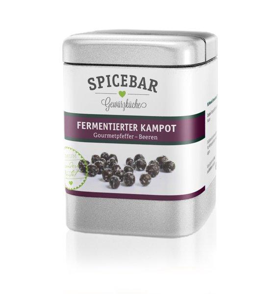 Spicebar Fermentierter Kampot Pfeffer, Gourmetpfeffer - Beeren 60g