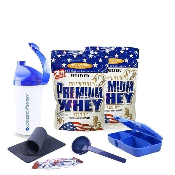 Weider Premium Whey Protein (2 x 500g Beutel)