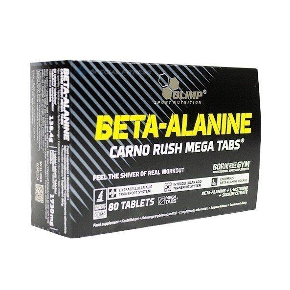 Olimp Beta-Alanin Carno Rush 80 Tabletten
