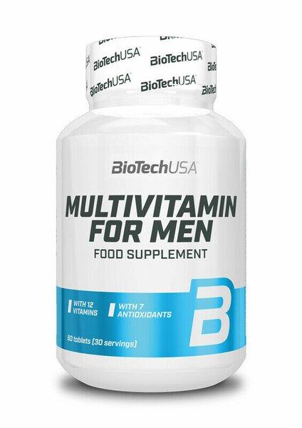 BioTech Multivitamin for Men 60 Tabletten - Vitamine
