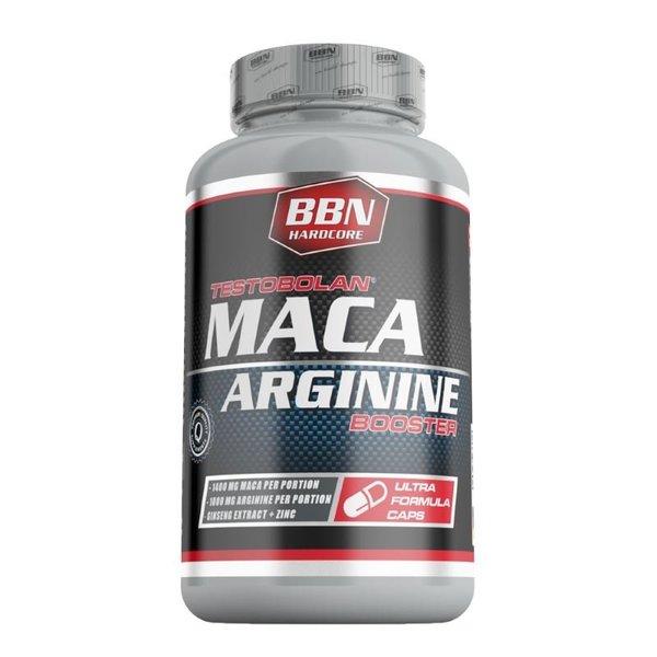Best Body Nutrition Testobolan Arginin Maca 100 Kapseln Dose