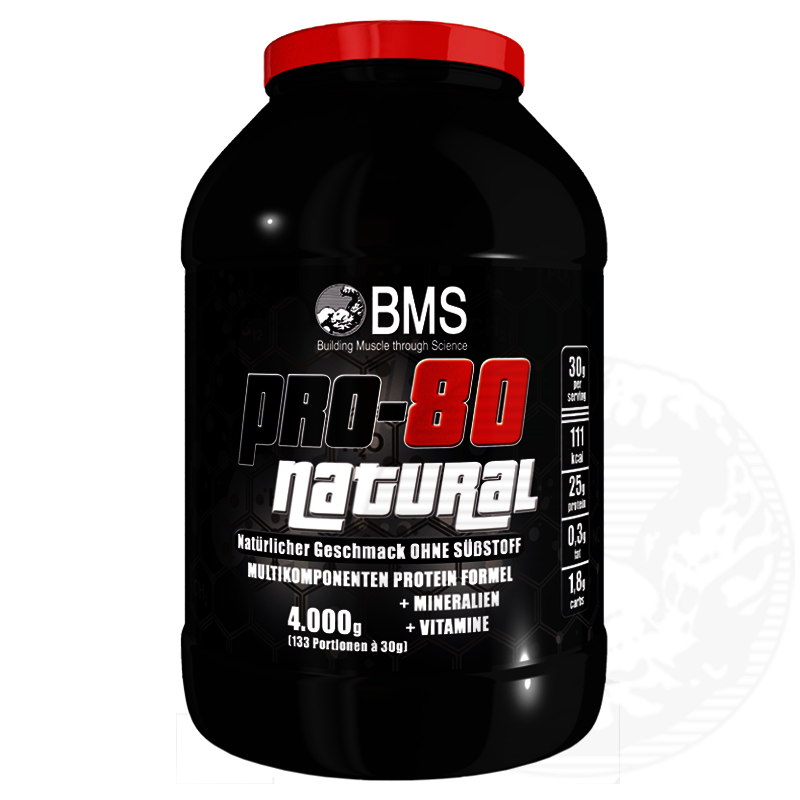 bms professional protein 80 natural 4kg whey protein eiweiss sporternahrung special fitness