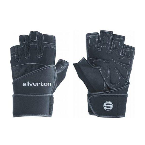 Silverton POWER PLUS Fitnesshandschuh mit Neopren Handgelenkbandage