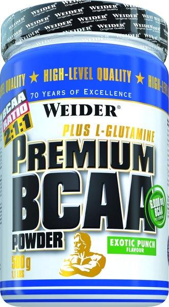 Weider Premium BCAA Pulver (500g Dose)