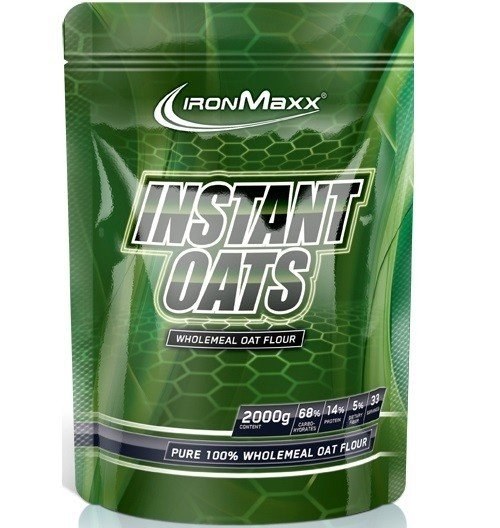 Ironmaxx Instant Oats 2000g Beutel