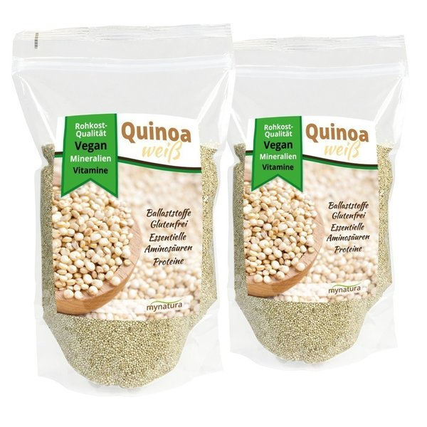 Mynatura Quinoa Samen Doppelpack (2x 1000g Beutel)