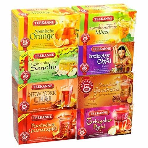 Teekanne Ländertee 1er Set 20 Beutel Hochwertig Aromatisch Vielfalt