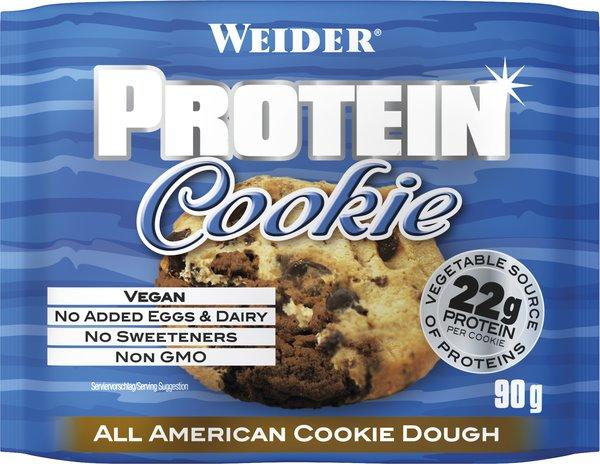 Weider Protein Cookie Kekse, 12x90g BOX