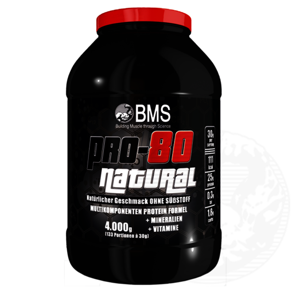 BMS Professional Protein 80 NATURAL 4kg