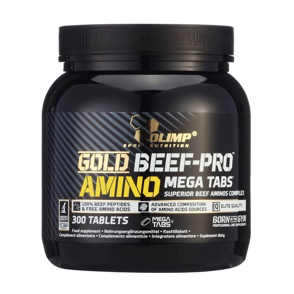 Olimp Gold Beef Pro Amino BCAA Protein 300 Tablette