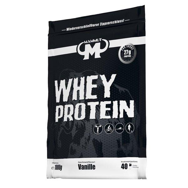 Mammut Whey Protein 1kg BEUTEL