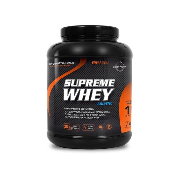 SRS Muscle Supreme Whey Casein Protein 1900g Schoko