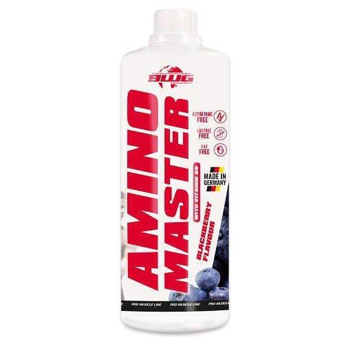 BWG Amino Liquid Master BCAA + Arginin Konzentrat 1 Liter