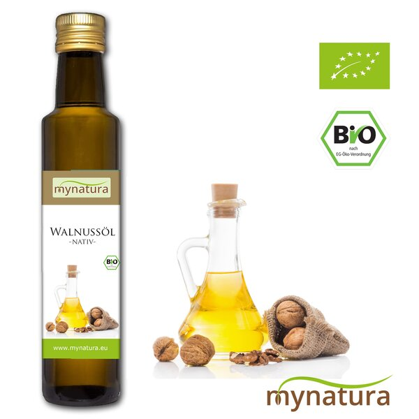 Mynatura Bio Walnussöl Kaltgepresst 250ml