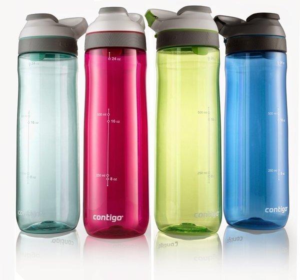 Contigo Cortland Trinkflasche Wasserflasche Autoseal 720ml NEUE FARBEN!