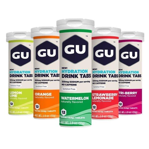 GU Hydration Drink Tablets Elektrolyten Brausetabletten 8x 12 Tabletten