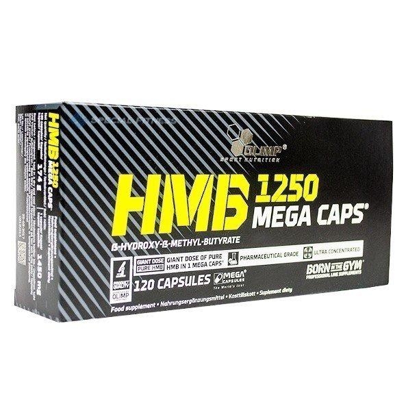 Olimp HMB Mega Caps 1250mg 120 Kapseln