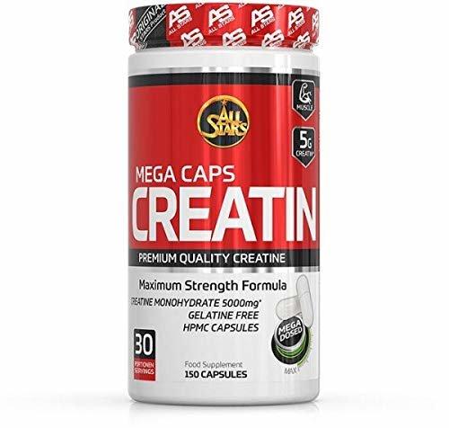 All Stars Creatin Mega Caps á 1183 mg 177 g 150 Kapseln
