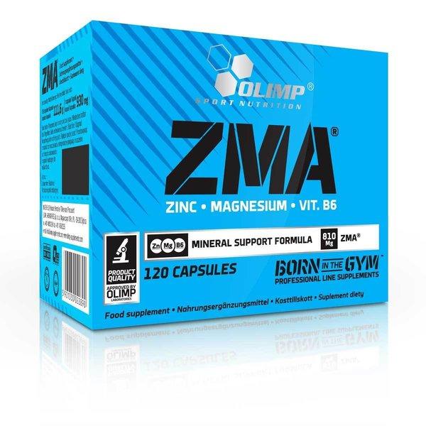Olimp ZMA 120 Kapseln Magnesium Aminosäure Zink