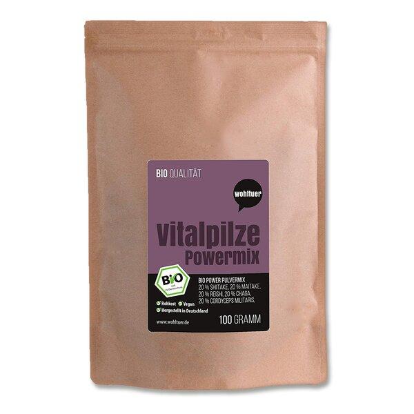 Wohltuer Bio Vitalpilze Powermix 100g