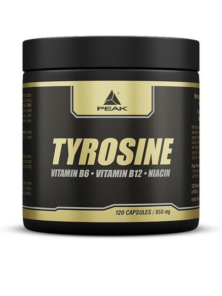 Peak Tyrosin Aminosäure 120 Kapseln Dose