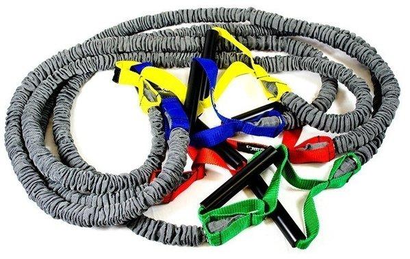 Dittmann BodyTube PREMIUM Gymnastikband mit Plastikgriffen