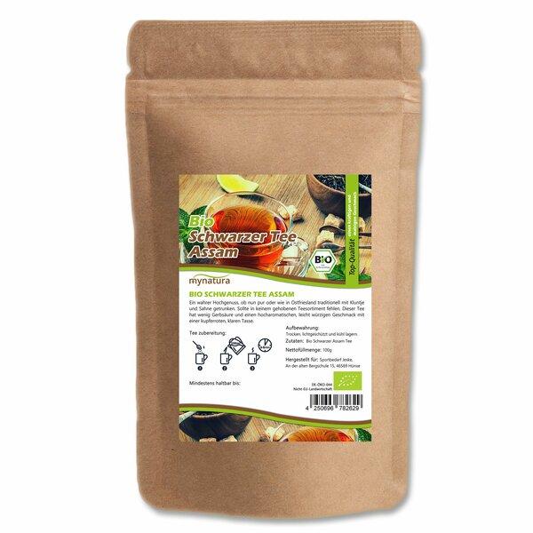 Mynatura Bio Schwarzer Assam Tee