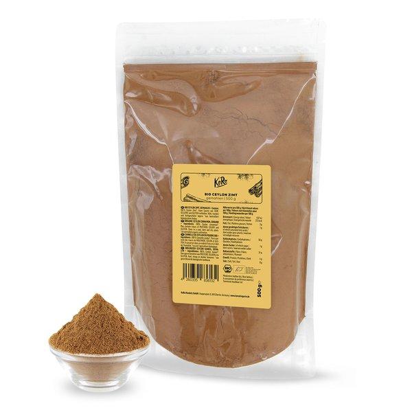 KoRo Bio Ceylon Zimt gemahlen | 500 g