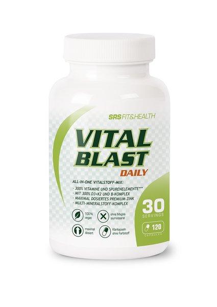 SRS Vital Blast 120 Caps Training Zellregeneration Recovery