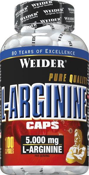 Weider L-Arginin | 100 Kapseln