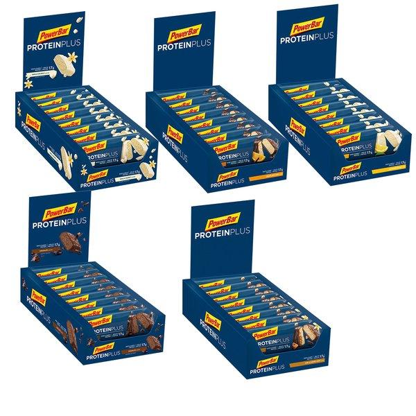 PowerBar Protein Plus Bar 30%, 15 x 55g Riegel BOX