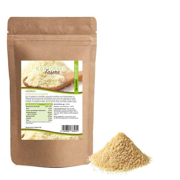 Mynatura Kartoffelfasern ab 1000g - Kartoffelmehl Kochen Mehlalternative Kartoffel