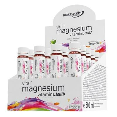 Best Body Nutrition Magnesium 20 x 25ml Ampullen