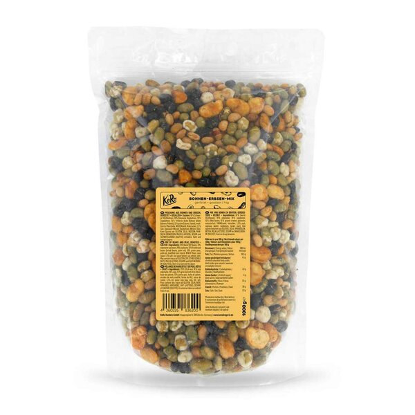 KoRo Bohnen-Erbsen-Mix Snack 1kg