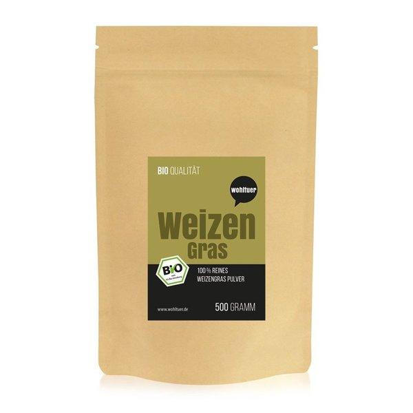Wohltuer Bio Weizengraspulver 500g