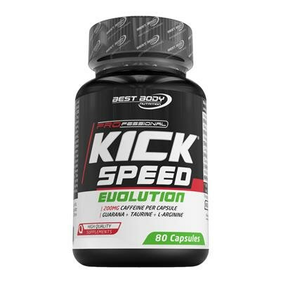 Best Body Nutrition Kick Speed Evolution (80 Kapseln)