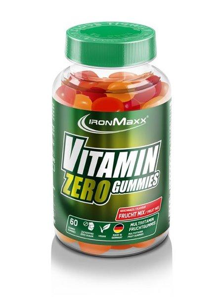 Ironmaxx Vitamin VEGAN Zero Gummies (60 Stück)