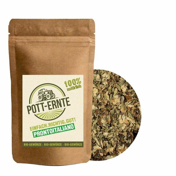 Pott-Ernte Bio Prontoitaliano Gewürzzubereitung 100g I Nachfüllbeutel