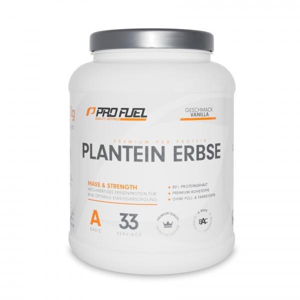 Plantein Erbse Protein Eiweiss - 1000g Dose