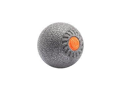Relaxroll Faszienrolle Massagerolle xBall, Metallic Silber, R3000 Massage BALL!