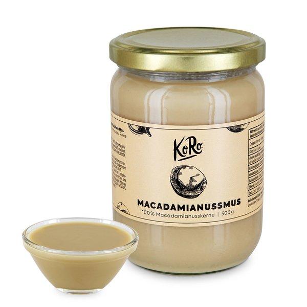 Koro Macadamianussmus | 500 g Natur