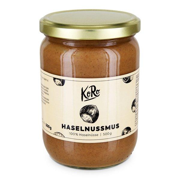 Koro Haselnussmus extra großen Haselnusskernen und blanchierten 500 g