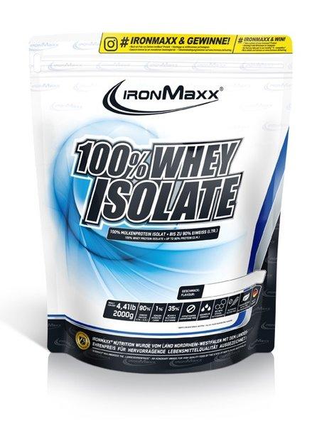 Ironmaxx 100% Whey Isolate 2kg Beutel