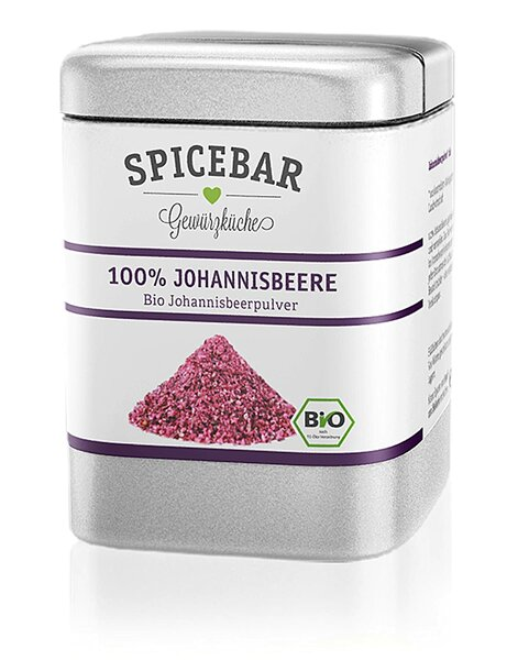 [MHD 11/2021]Spicebar Fruchtpulver gefriergetrocknet aus 100% Johannisbeere 60g