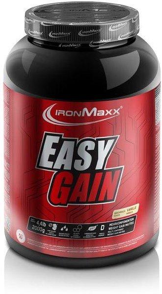 IronMaxx Easy Gain Weight Gainer, 2000g Dose